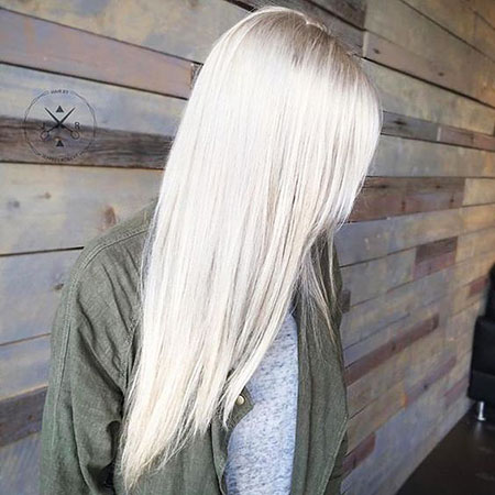 Blonde Ice Platinum Locks Icy Colors Balayage