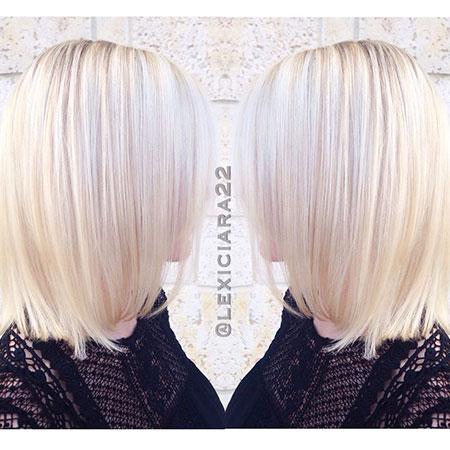 Blonde Hairstyles, Platinum, Champagne