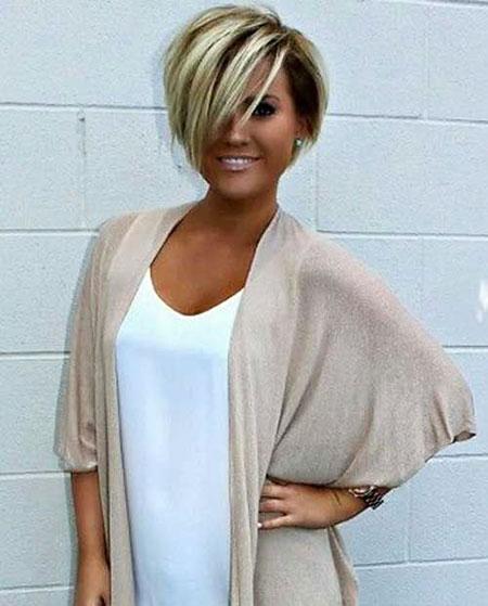 Short Hairstyles, Blonde Bob Hairstyles, Women, Thin, Texture