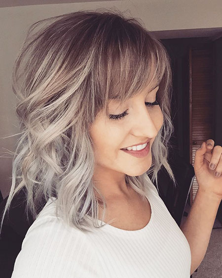 Taylor, Swift, Blonde Bob Hairstyles, Silver, Painting, Ombre