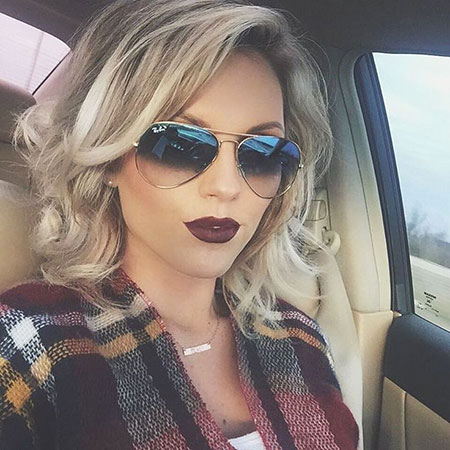 Sunglasses, Tones, Soft, Short Hairstyles, Shades, Round, Ray