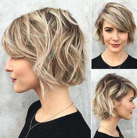 Short Hairstyles, Wavy, Pixie Cut, Cute Hairstyles, Choppy