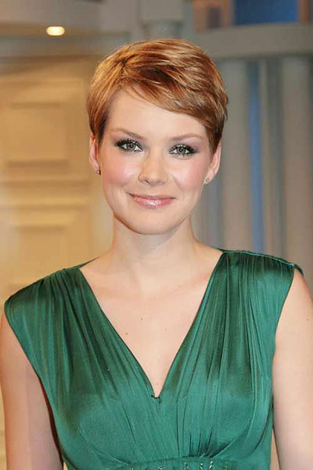 Short Hairstyles, Pixie Cut, Williams, Round, Michelle