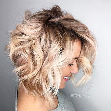 Blonde Hairstyles, Blonde Bob Hairstyles, Short Hairstyles, Blond, Balayage