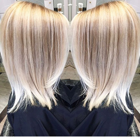 Blonde Hairstyles, Highlights, Balayage, Winter, Thin, Season
