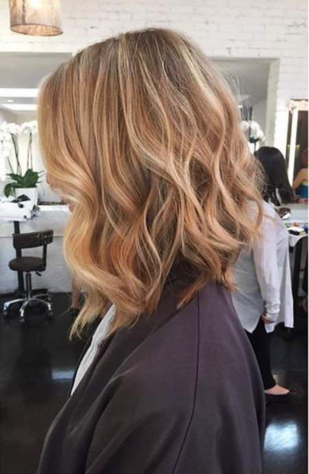 Blonde Hairstyles, Long, Balayage, Textured, Ombré, Ombre