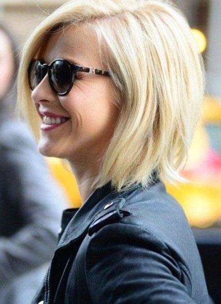 Julianne Hough, Blonde Bob Hairstyles, Short Hairstyles