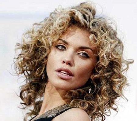 Curly, Perm, Naturally, Mccord, Curls, Annalynne