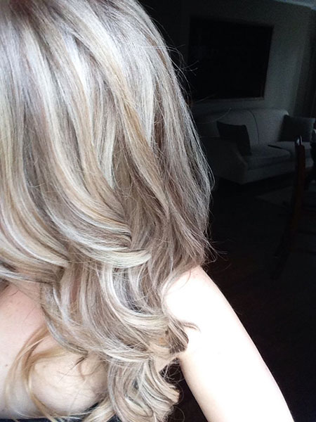 Blonde, Highlights, Ash, Platinum, Balayage, Baby