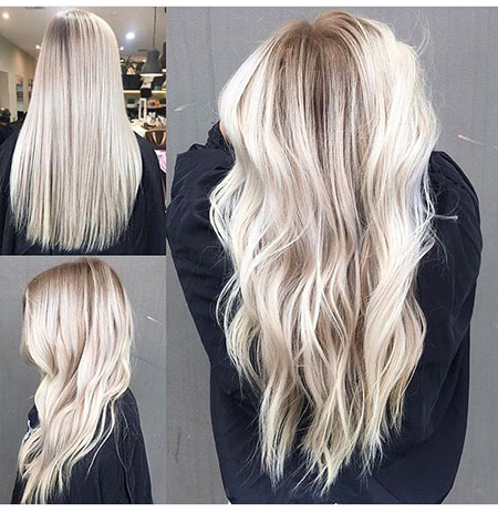 Blonde, Balayage, İcy