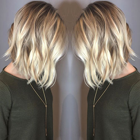 Blonde Hairstyles, Balayage, Yellow, Trend, Spring, Some, Short Hairstyles, Rose