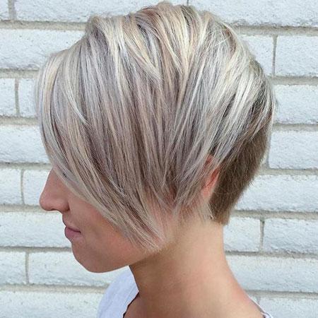 Blonde Bob Hairstyles, Blonde Hairstyles, Pixie Cut, Balayage