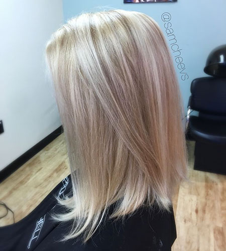 Blonde Hairstyles, Lowlights, Highlights, Balayage, Women