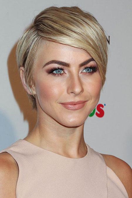 Short Hairstyles, Julianne Hough, Blonde Hairstyles