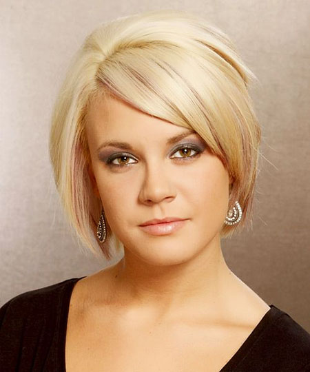 Short Hairstyles, Blonde Bob Hairstyles, Fine, 2017, Medium
