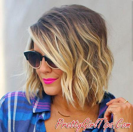 Short Hairstyles, Blonde Hairstyles, Blonde Bob Hairstyles, Balayage