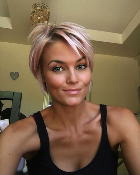 Short Hairstyles, Cropped, Blonde Hairstyles