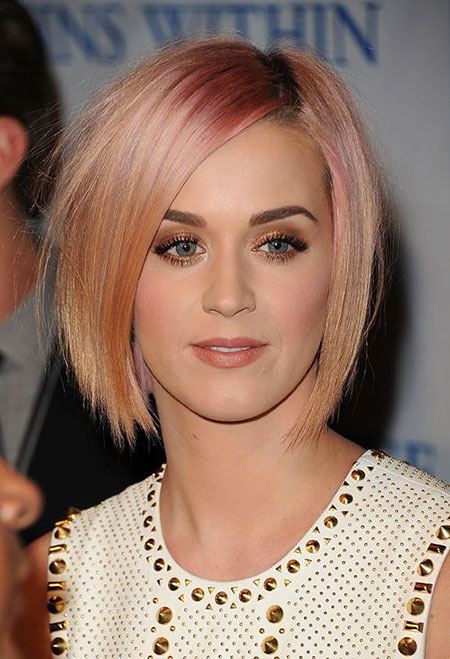 Short Hairstyles, Katy, Blonde Bob Hairstyles, Perry