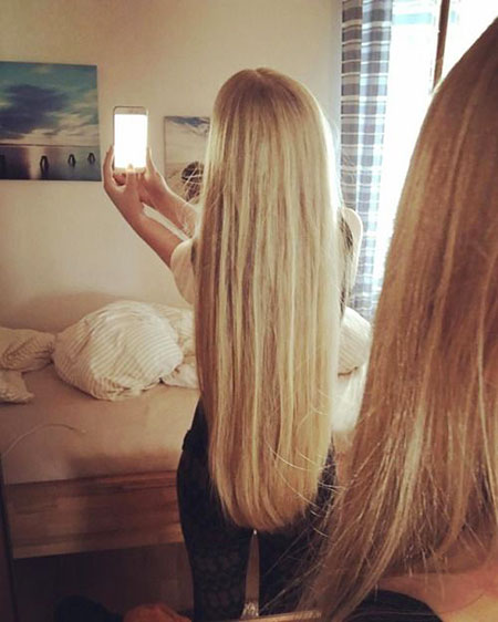 Long Blonde Summer Ombre Layered