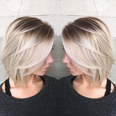 Blonde Bob Hairstyles, Short Hairstyles, Blonde Hairstyles, Blunt, Blond