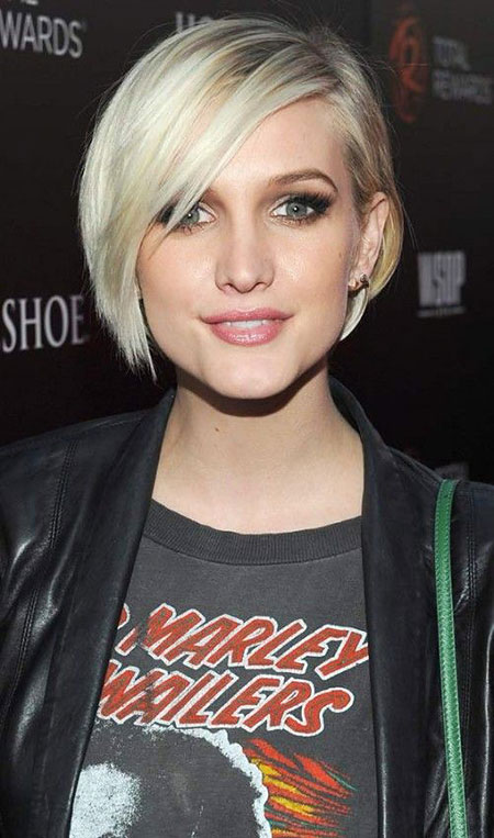 Short Hairstyles, Blonde Bob Hairstyles, Straight Hairstyles, Blunt