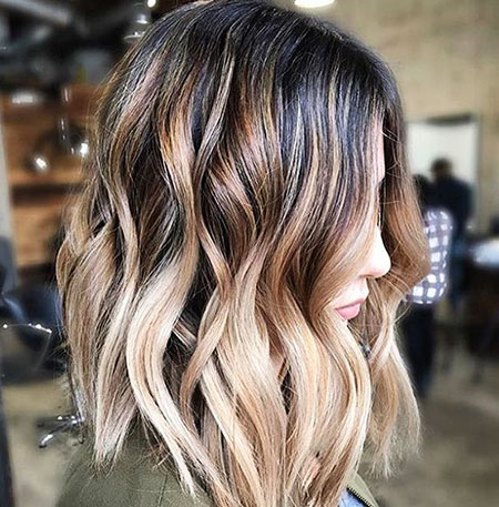 Balayage, Blonde, Ombre, Brown, Year, Trends, Layered, Highlights, Bronde, 20