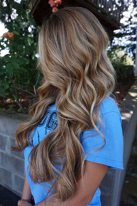 Balayage Blonde Summer Ombre Natural Long