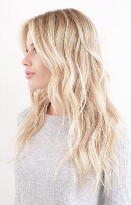 Blonde Highlights Balayage Tone Skin Pretty
