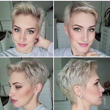 Short Hairstyles, Pixie Cut, Kapsels, without, Wedding, Rock