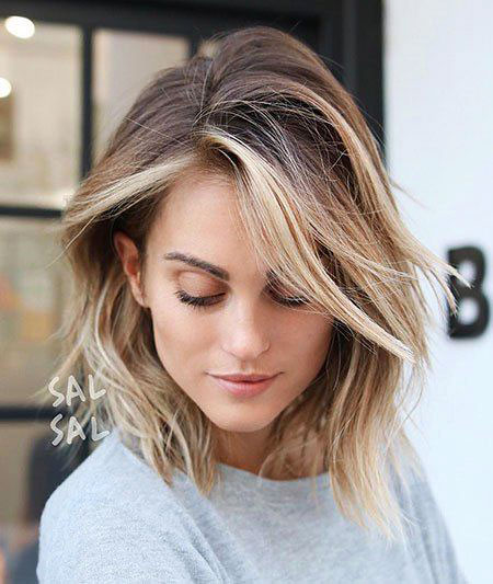Balayage, Trends, Shoulder, Round, Long, Length, Faces, Curly
