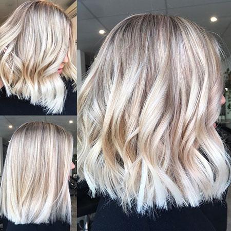 Blonde Hairstyles, Balayage, Short Hairstyles, Shaggy, Platinum, Olaplex, Modern