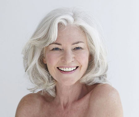 Women, Paula, Older, Gray, Trending, Summer, Short Hairstyles