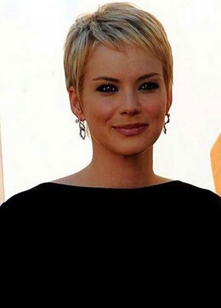 Short Hairstyles, Pixie Cut, Long, Light, Layered, Haircut, Blonde Hairstyles