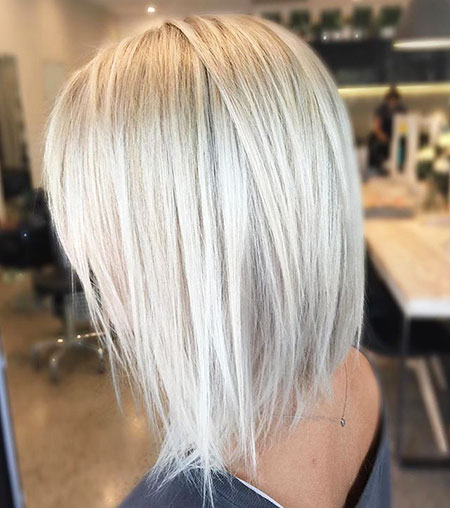 Blonde, Bob, Balayage, Silver, Platinum, Long, Haare, Graue, Bobs