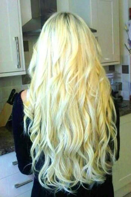 43 Long Blonde Curly Hairstyles Blonde Hairstyles 2017