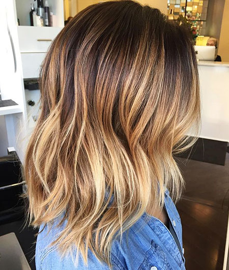 Blonde Hairstyles, Wave, Short Hairstyles, Ombre, Highlights, Girl
