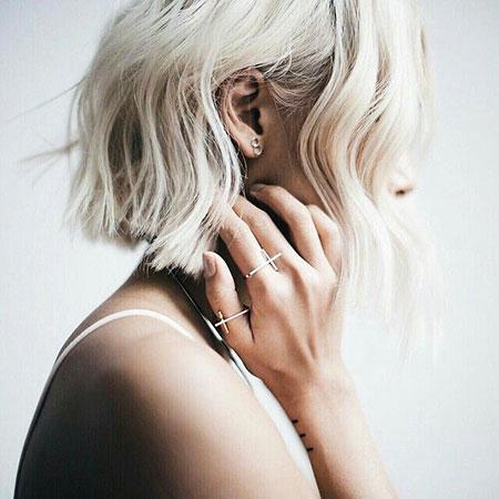 Blonde Hairstyles, Short Hairstyles, Rachel, Platinum