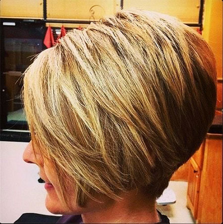 Blonde Bob Hairstyles, Short Hairstyles, Stacked
