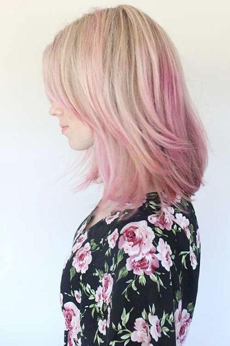 Pink, Blonde Hairstyles, Blonde Bob Hairstyles, Short Hairstyles