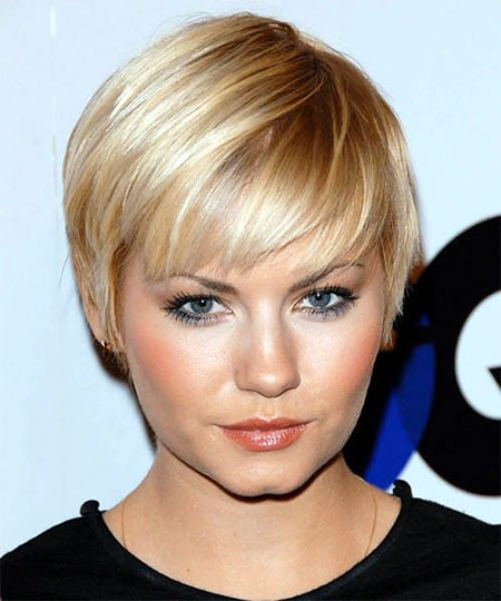 Short Hairstyles, Straight Hairstyles, Fine