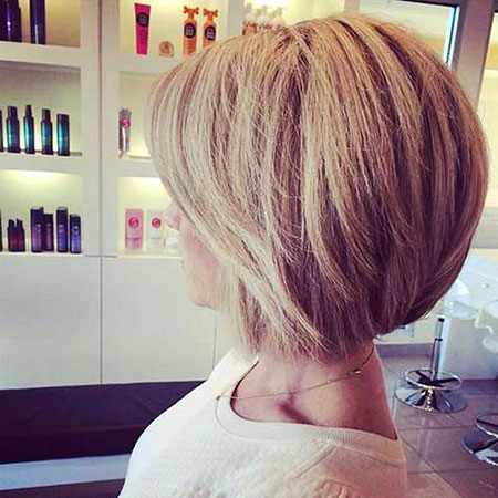 Blonde Bob Hairstyles, Short Hairstyles, Wedding, Stacked, Layered