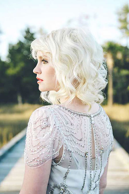 Short Hairstyles, Wedding, Curly, Women, White, Weddings, Pixie Cut