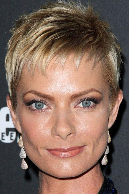 Short Hairstyles, Pixie Cut, Platinum, formal, Edgy, Braid, Blonde Hairstyles