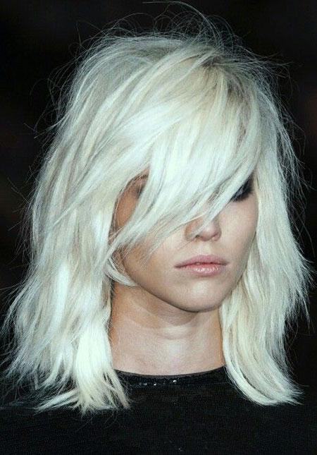 Blonde Hairstyles, White, Platinum, Blonde Bob Hairstyles, Silver