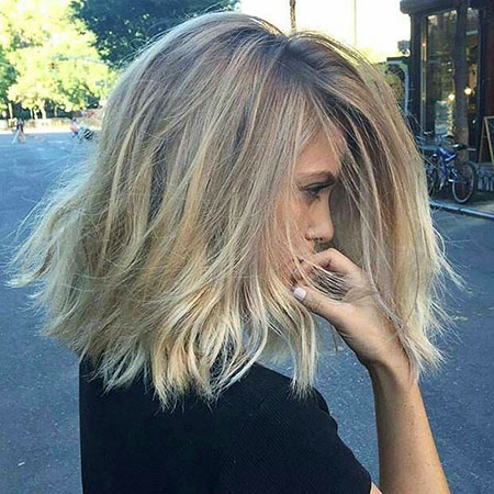 Blonde Hairstyles, Balayage, Lob, Dark, Blonde Bob Hairstyles