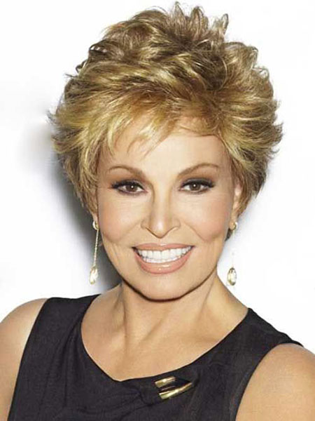 Short Hairstyles, Women, Over, Wig, Welch, Wavy, Round