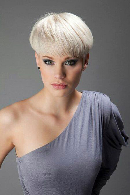 Short Hairstyles, Year, Women, Trends, Round, Pixie Cut, Faces