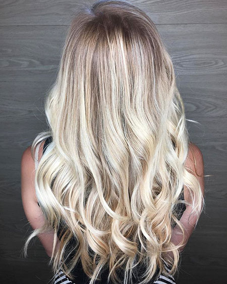 Blonde, Balayage, Ombre, Highlights, High, Down, Beach, Ash