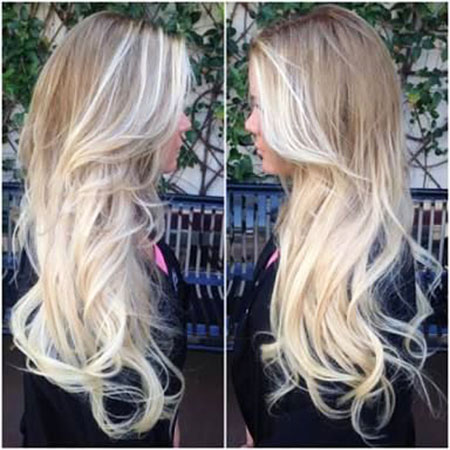 Blonde, Balayage, Highlights, Bleach, Ombre, Long