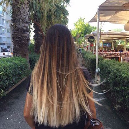 Ombre Blonde Work Should Over Long Length Balayage 2017